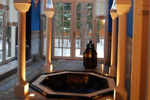 Oriental-style hammam, jacuzzi and spa
